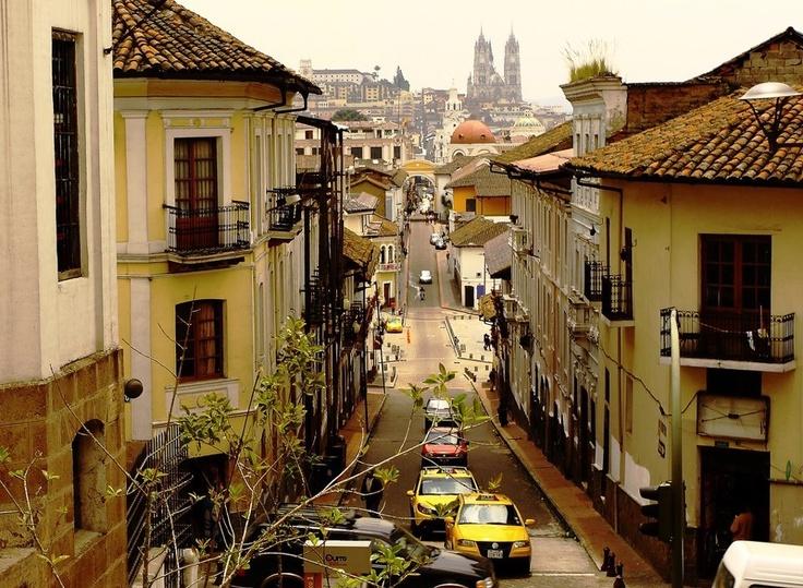 Centro de Quito -Ecuador