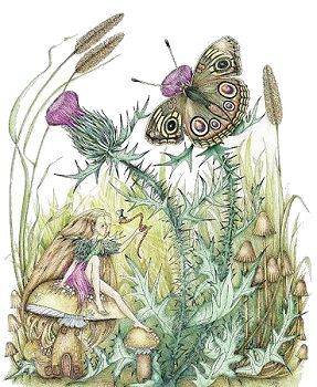 The Glowworm Fairy, Copyright© 2004 Fairies World