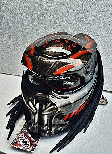 PREDATOR HELMET CUSTOM FOR MOTORCYCLE BLACK ORANGE Doft A... https://www.amazon.com/dp/B075QKNFNV/ref=cm_sw_r_pi_dp_x_bF6Wzb7MM50RW