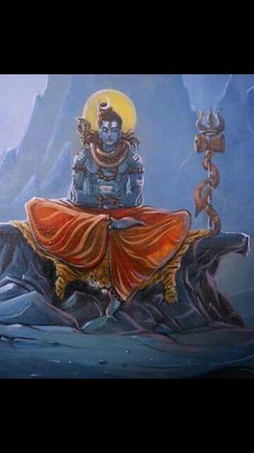 Shiva. Om Namah Shivaya.