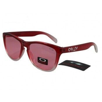 2013 new Oakley Frogskins Sunglasses crystal roseo-white frames pink lens | See more about oakley frogskins, oakley and sunglasses. http://exploretraveler.com