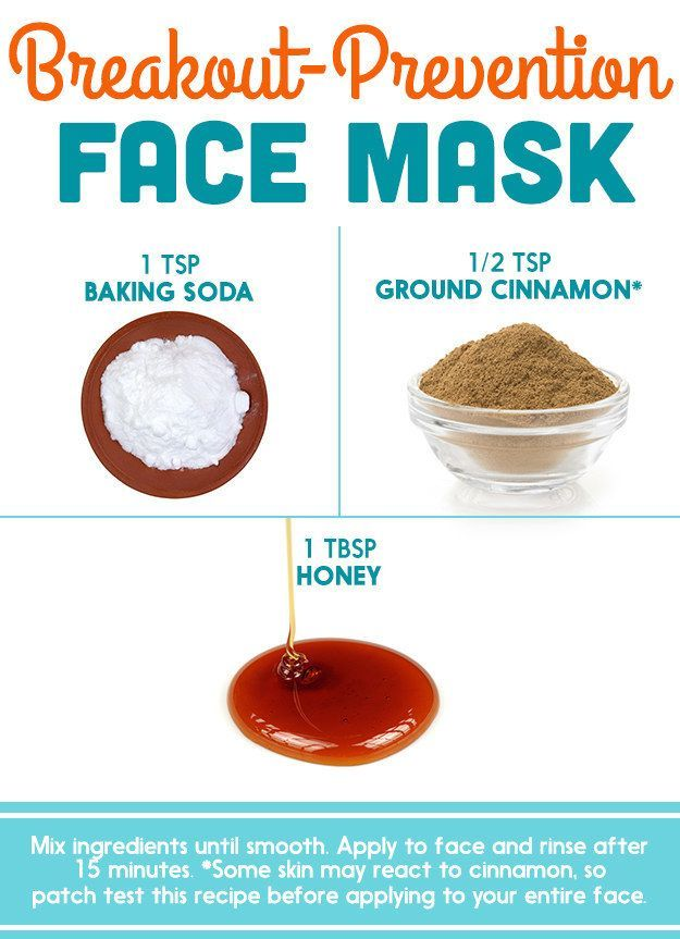 Honey + Baking Soda + Cinnamon | Here's What Dermatologists Said About Those DIY Pinterest Face Masks