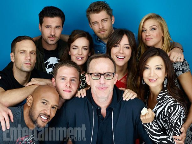 Agents of Shield cast at SDCC
