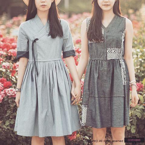 #생활한복 #modernHanbok #dailyhanbok #koreandress #꼬마크