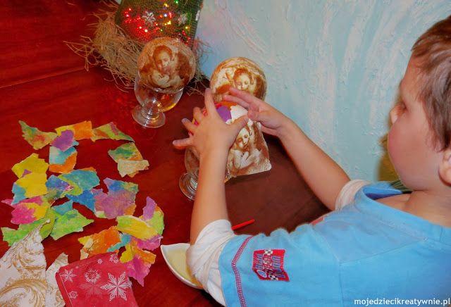 Bombki DIY dla dzieci