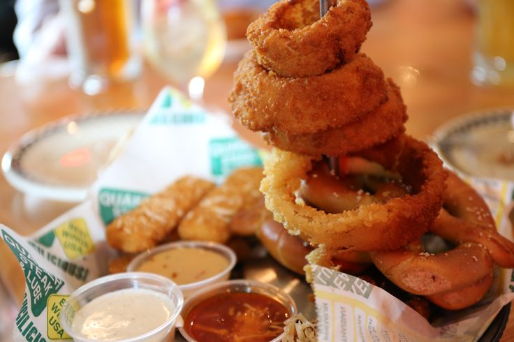 Speed into Quaker Steak & Lube in Middleton for hot and delicious appetizers!