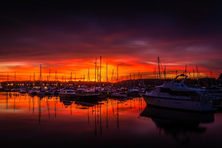 St Marys Island Sunset - News - Bubblews