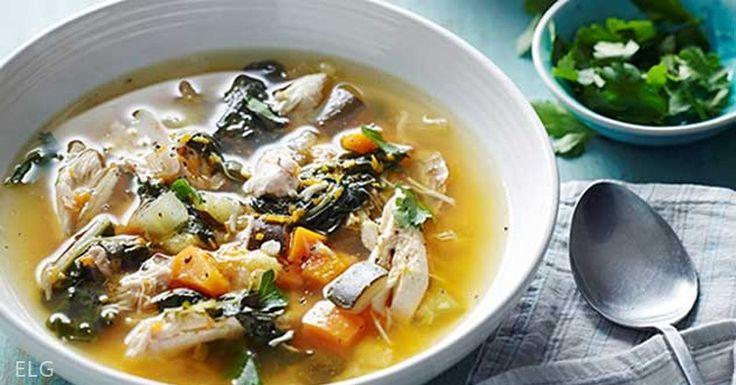 Hearty Chicken and Vegetable Soup Recipe <3 via @eatlocalgrown