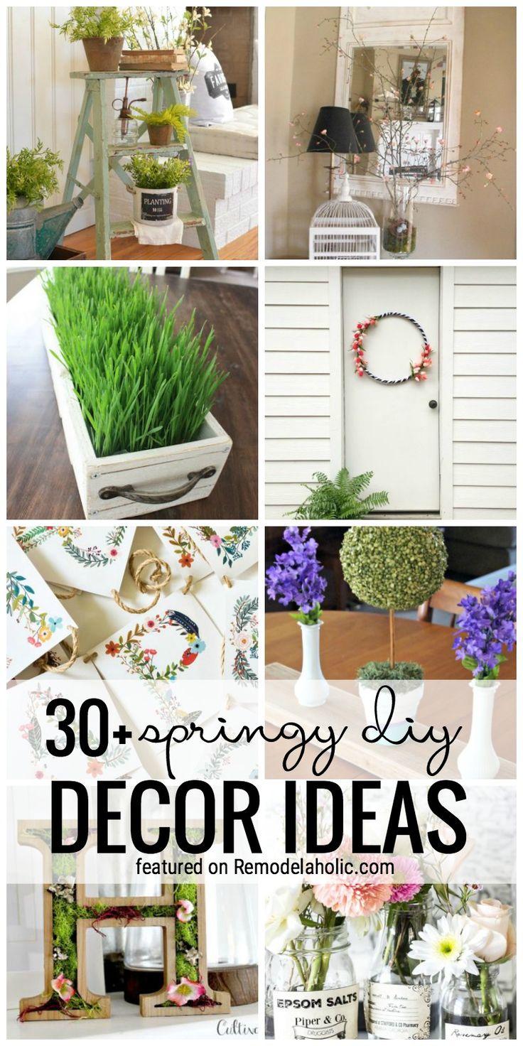 695 best decorating images on pinterest decorating tips 30 springy diy decor ideas