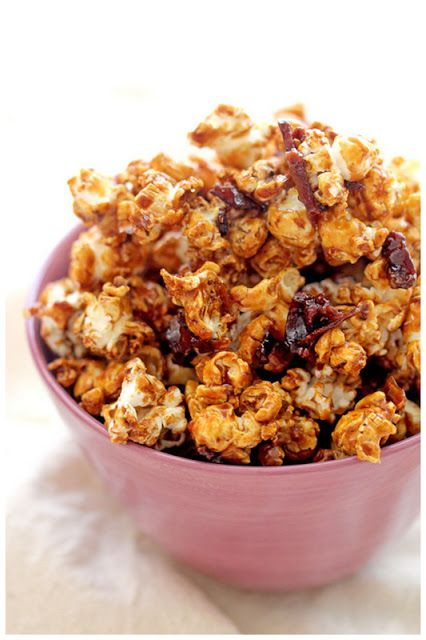 40 ways to make your popcorn. - includes kettle corn, caramel marshmallow, red velvet white chocolate etc