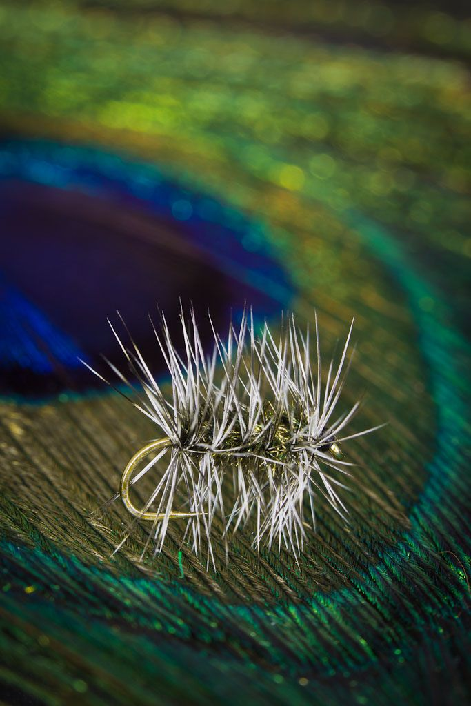 Griffith's Gnat dry fly from FlyTyingArchive.com fly tying blog. #flytying #flyfishing, a great fly to raise a fish!