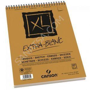 Canson XL Extra White Siperelli Eskiz Defteri 60 Sayfa 90 gr. A5