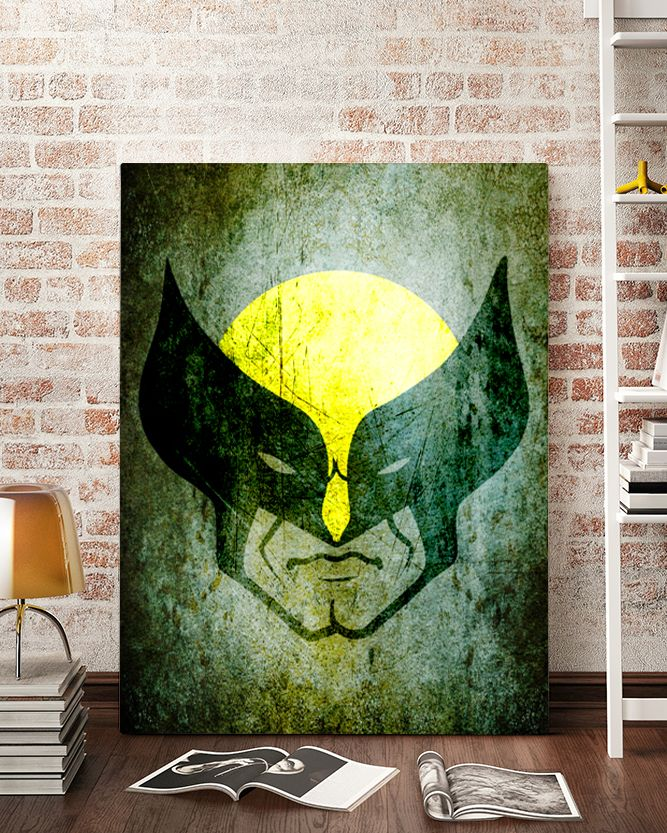 Wolverine Canvas Art - Marvel Canvas Art @ http://artzeedesigns.com/products/canvas-art-marvel-inspired-art-comic-book-characters-wolverine-by-artzee-designs.html