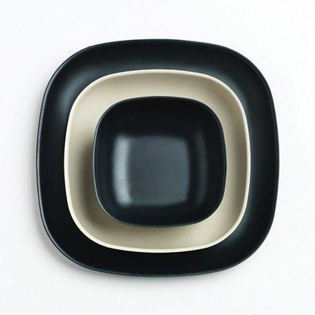 Blog Post: Black is the New Black| Biobu Dinner Plates | Unison