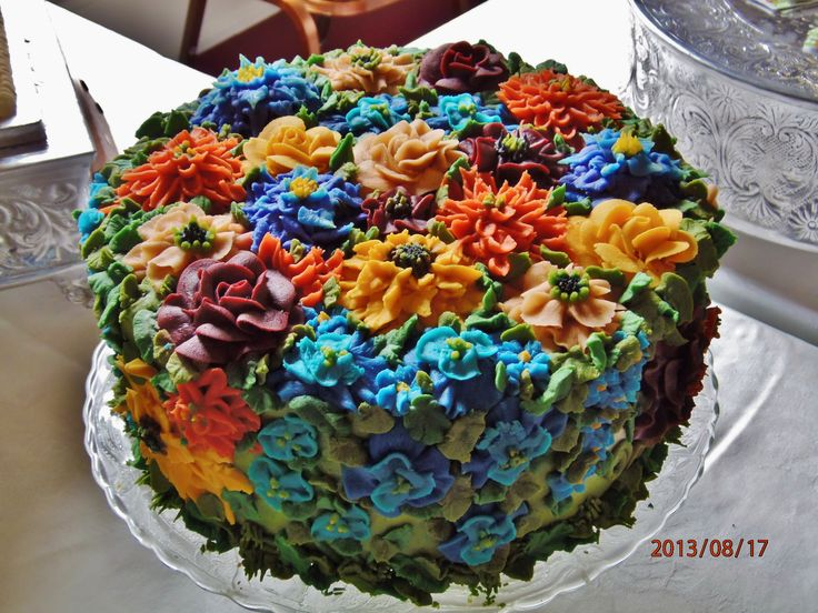 Floral Birthday Cakes Pinterest