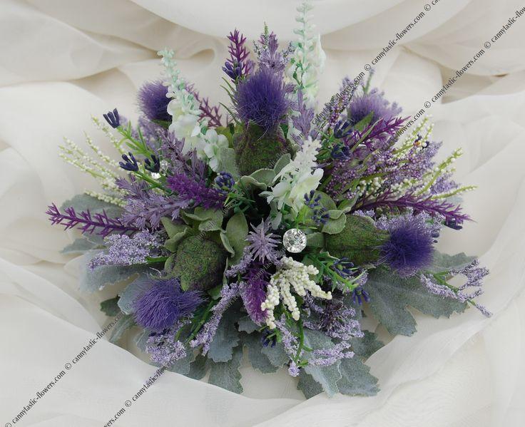 Cannytastic Flowers. Artificial Scottish Silk Wedding ...