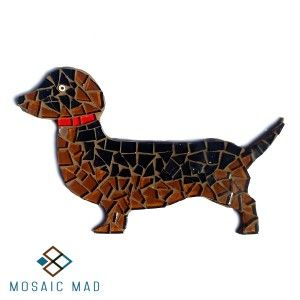 Natural Sausage Dog, Mosaic Mad D.I.Y. kit, R49,00