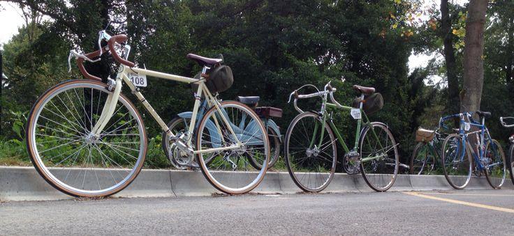 Mon Anjou Vélo Vintage à La Patrimoine, Favières en Brie.