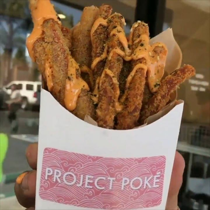 Deep-fried Spam fries! Yes, really. Like or share videosgoviral.com for more videos!