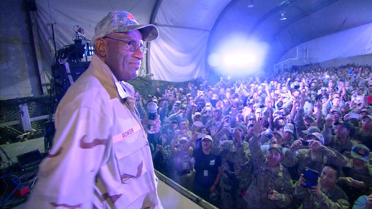 See behind the scenes of the USO comedy tour in Afghanistan