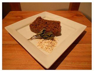 Nutricion Sattvica: Queque avena albahaca