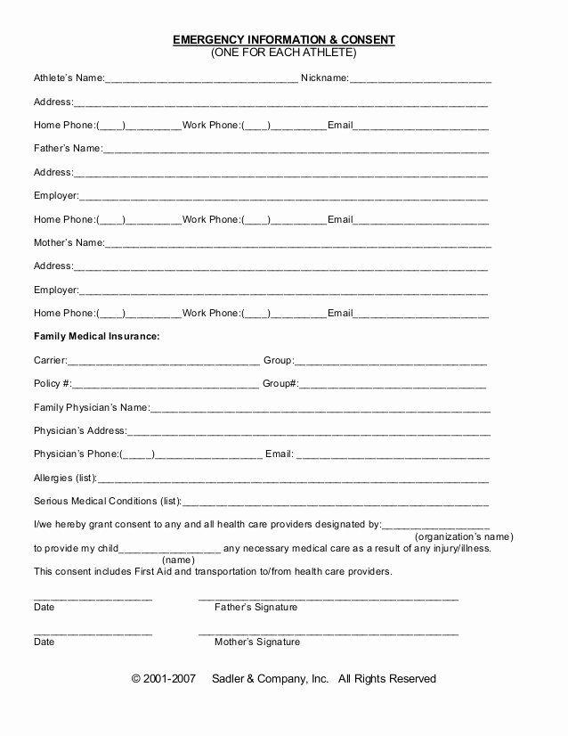 Printable Medical Insurance Verification Form Template