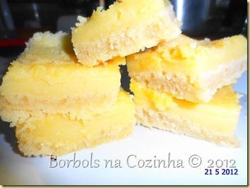 barrinhas de limão siciliano diet