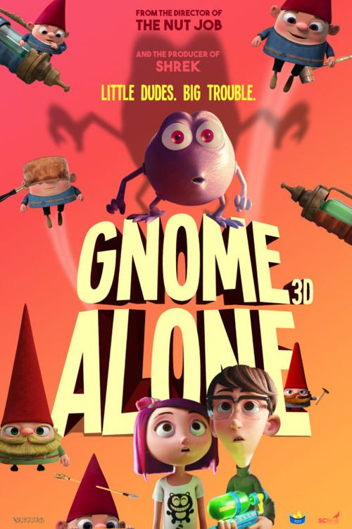 Watch Gnome Alone 2017 Full Movie Online Free