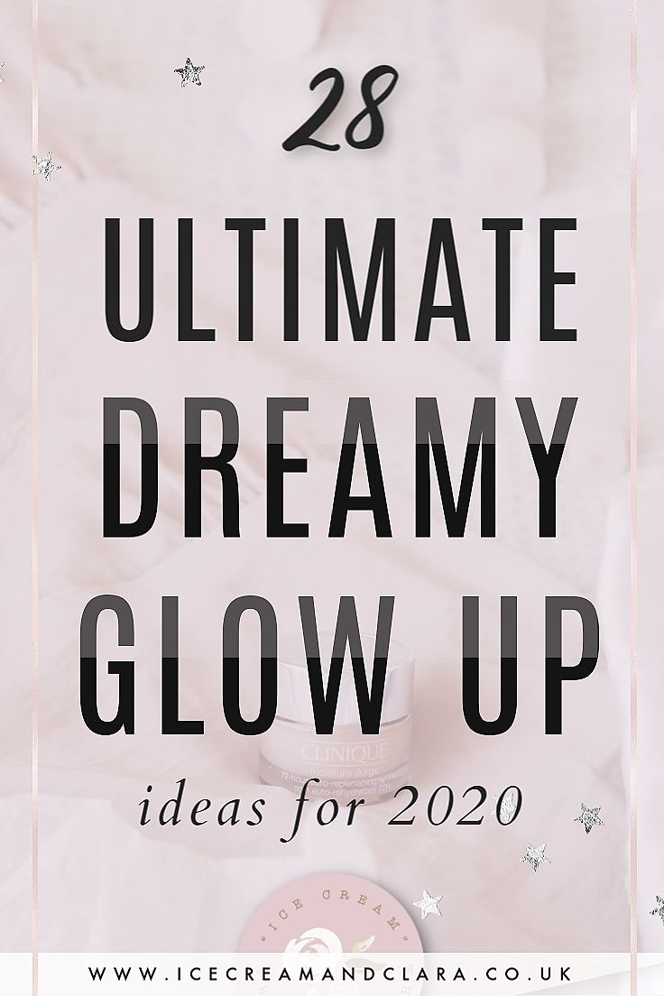 A few 2020 glow up checklist ideas in 2020 with images