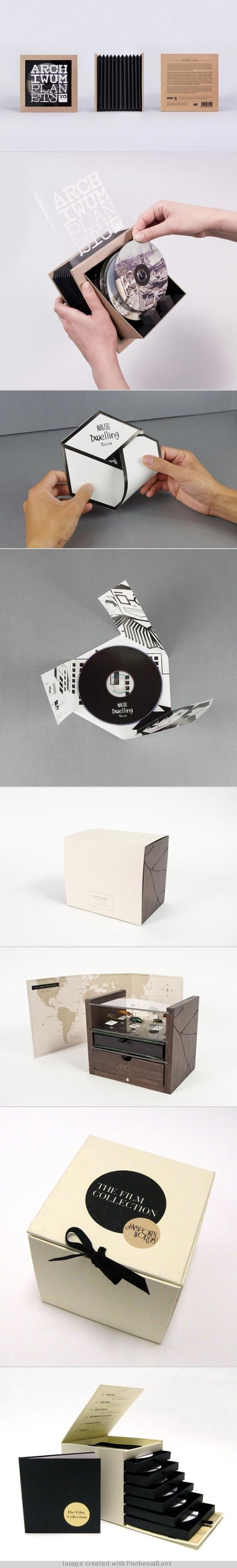 CD / DVD package design