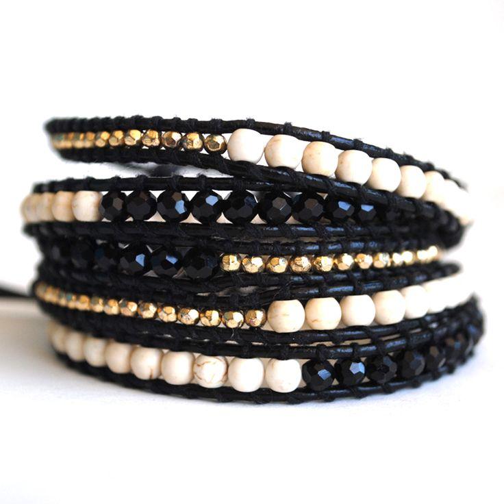 Pigment - LoveTatum Bali Wrap Bracelet, $88.00 (http://www.shoppigment.com/lovetatum-bali-wrap-bracelet/)