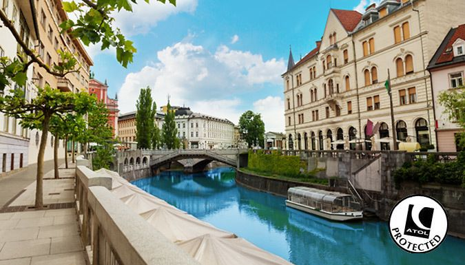 UK Holidays: Ljubljana, Slovenia: 2-4 Night Hotel Stay With Flights - Up to 36% Off for just: £89.00 Opt for an unconventional but super beautiful city break and live it up in Ljubljana.      Stay at the Hostel Celica or the Hotel Meksiko in a double or twin room       Both hotels offer superb central city locations, close to the curving Ljubljanica River      Slovenia's capital city,...