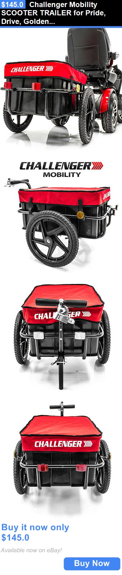 Mobility Scooters: Challenger Mobility Scooter Trailer For Pride, Drive, Golden Electric Scooters BUY IT NOW ONLY: $145.0