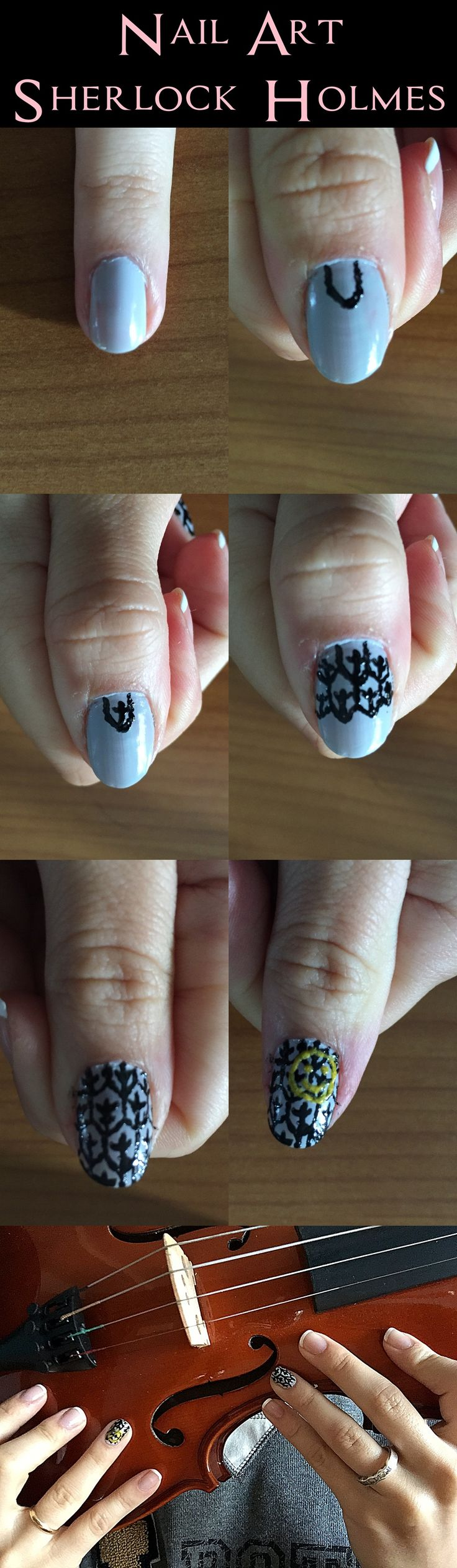 Nail Art - Sherlock (la serie)