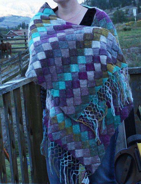 119 Best Entrelac Knitting Images On Pinterest Knitting Stitches