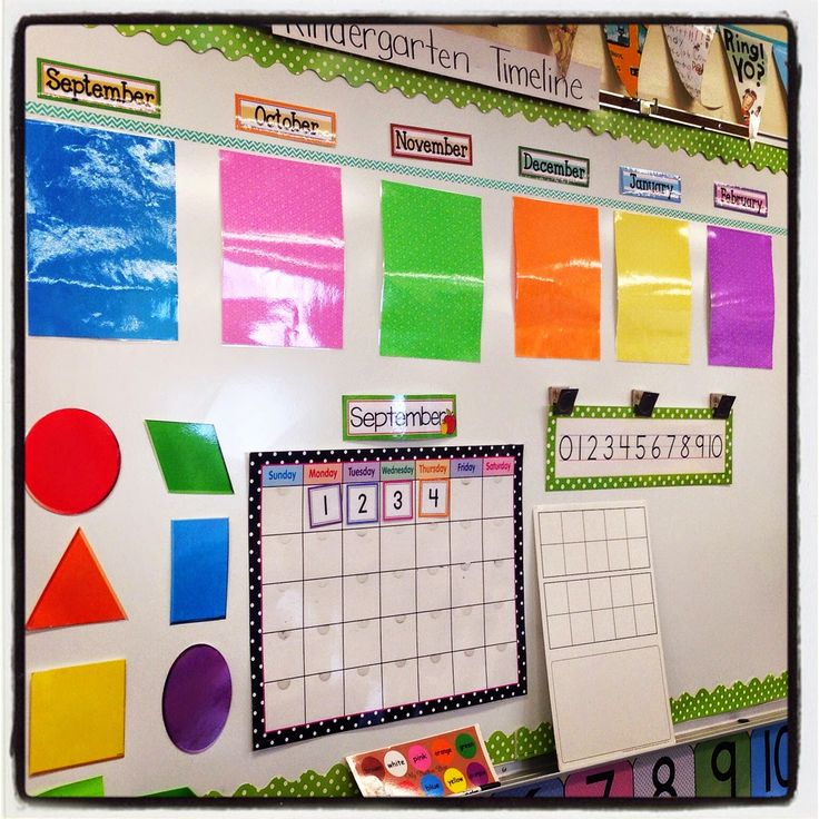 Kindergarten Calendar Wall : Images about calendar in preschool on pinterest
