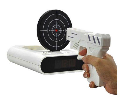 Skjut Väckarklockan - Pistol och Måltavla - Alarm