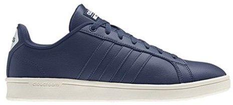 adidas Men's NEO Cloudfoam Advantage Stripe Court Shoe