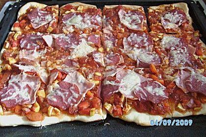 Pizzateig, kalorien- und fettarm 36