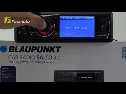 Blaupunkt Salto 4011 3 inch Screen Bluetooth Single DIN DVD USB SDHC Car Stereo Malaysia