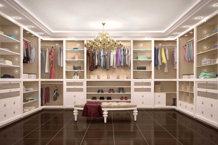 Is this the world's most lavish walk-in wardrobe?