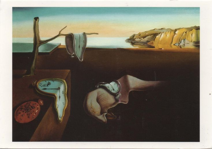 FI-3208136 (2018°108) - Arrived: 2018.04.03   ---    Salvador Dalí - The Persistence of Memory (1931)