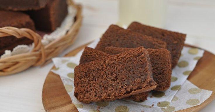 Rychlé čokládové brownies z 5 ingrediencí