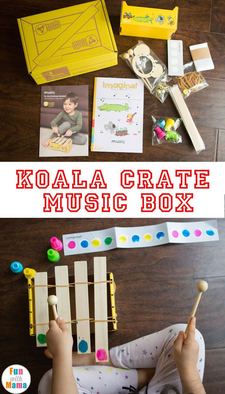 Koala Crate March 2017 Review + Promo Music, Music and Learning, Music Activity, Subscription Box, Kids Subscription Box, Monthly Boxes for Kids, Educational Boxes for Kids