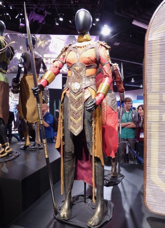 Black Panther Okoye Costume Comic Con Outfit Dora Milaje Costume Cosplay Dress