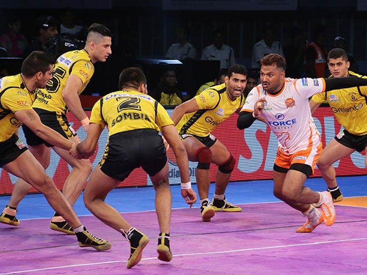 Pro Kabaddi League Puneri Paltan Beat Telugu Titans 42-37 - NDTVSports.com #757Live
