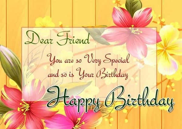 Wonderful Happy Birthday Wishes Greetings To Best Friend