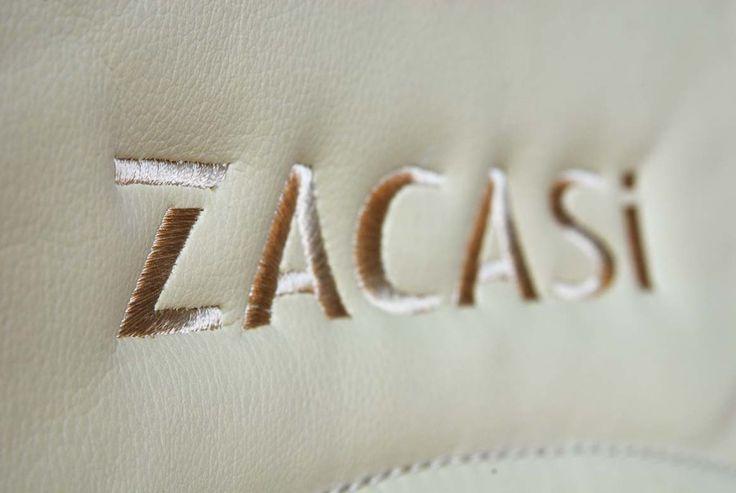 #ZACASi #logo #beige #leather #seam #AUDI #BMW #MINI #VW