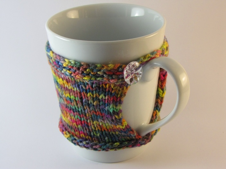 The 253 Best Knit Crochet Mug Hugs Images On Pinterest Knit