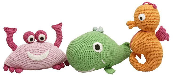 Sea cuddle toy.